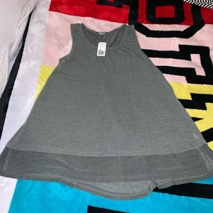 Forever 21 flowy a-line tank top